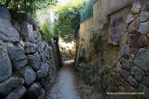chemin de ronde de Calonge à Platja d'Aro