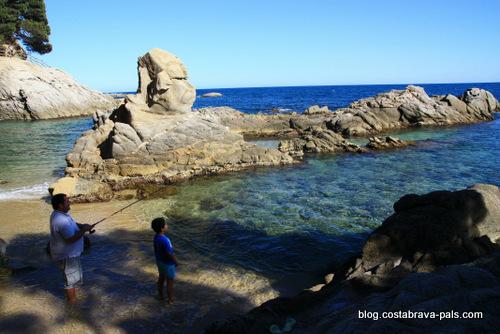 joyaux secrets sur la Costa Brava - chemin de ronde