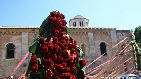 1 journée à Gérone : festival des fleurs