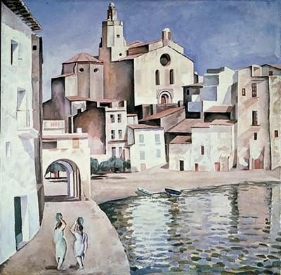 Dalí i Domènech, Salvador Port Alguer c.1923 Huile sur toile 100.50 x 100.50 cm. TEATRE-MUSEU DALI