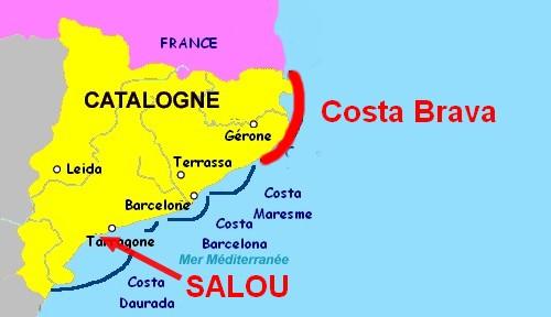 Salou n'est pas sur la Costa Brava