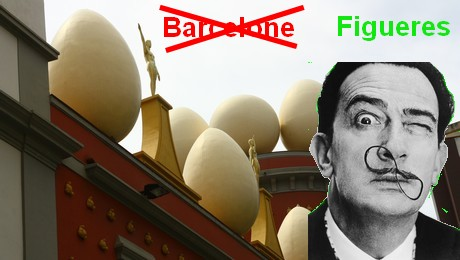 pas de musée Dali à Barcelone