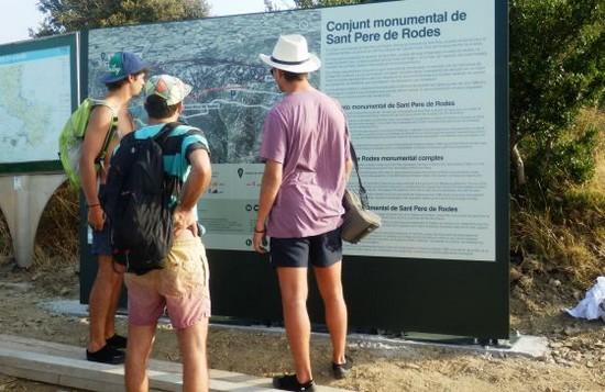 nouvel itinéraire de visite au monastère de Sant Pere de Rodes 1
