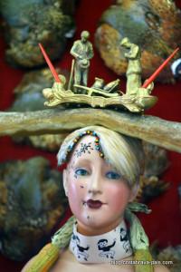 Buste de femme rétrospectif - Dali