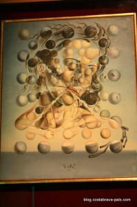 Galatea des sphères - musée dali figueres