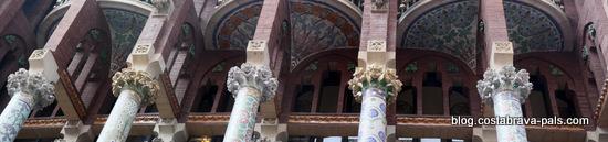 Palais de la musique catalane à Barcelone (1)