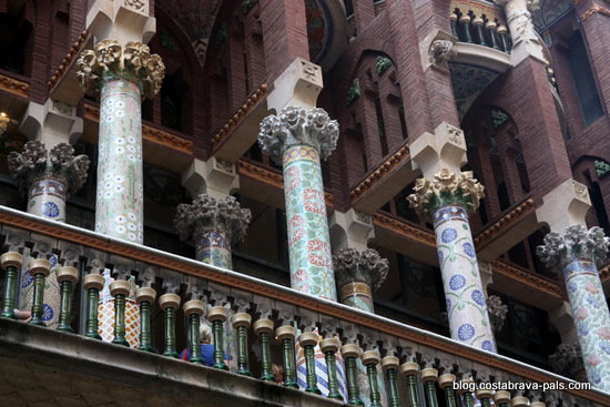 Palais de la musique catalane à Barcelone (6)