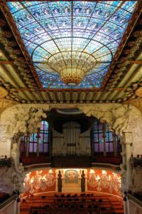 Palais de la musique catalane à Barcelone (8)
