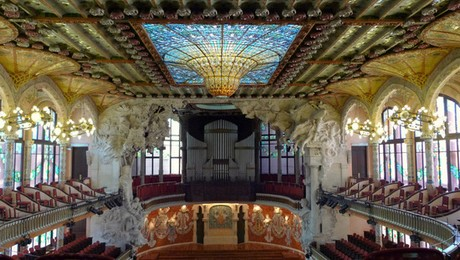 le quartier du Born à Barcelone - Palau de la musica