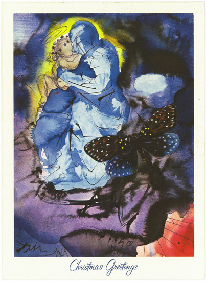 cartes de Noël de Dali Hallmark (6)