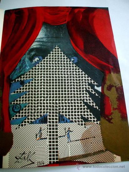 cartes de Noël de Dali 1964
