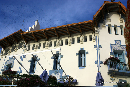 La maison bleue de Cadaques, casa Serinyana (2)