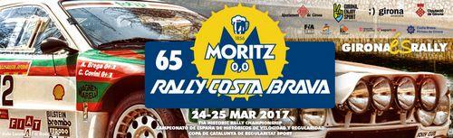 Rallye Moritz Costa Brava 2017 logo