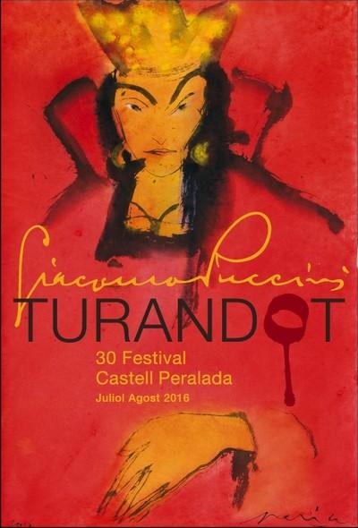 Festival de Peralada 2016 - Turandot affiche