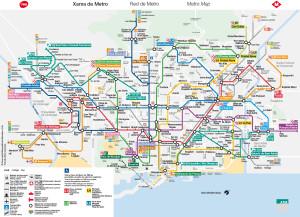 plan de metro de Bracelone