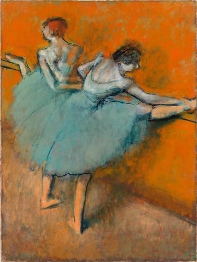 Exposition Barcelone 2016  Collection Phillips au CaixaForum Edgar Degas ballerines à la barre