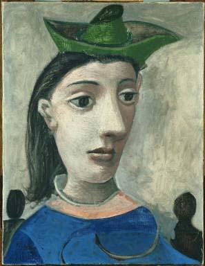 Exposition Barcelone 2016 : la Collection Phillips au CaixaForum  Pablo Picasso femme au chapeau vert