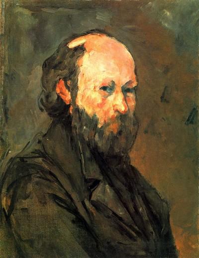 Collection Phillips à Barcelone Paul Cézanne autoportrait