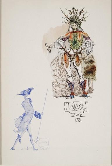 Dalí, Shakespeare, Visconti, exposition 2016 à Pubol (1)