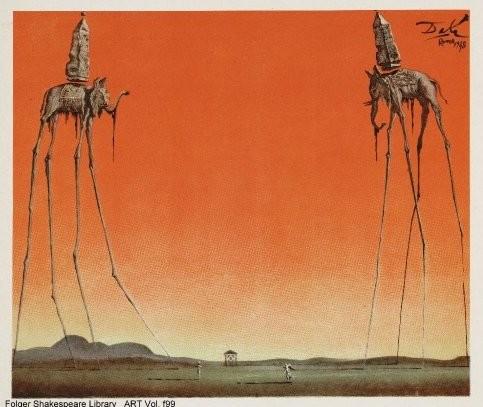 Dalí, Shakespeare, Visconti, exposition 2016 à Pubol (2)
