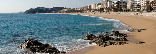Que faire à Lloret de Mar Costa Brava en Espagne la plage