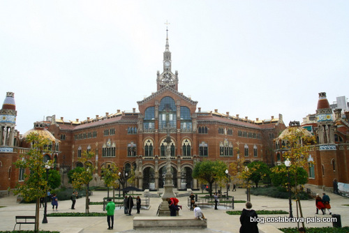hôpital de Sant Pau à Barcelone (1)