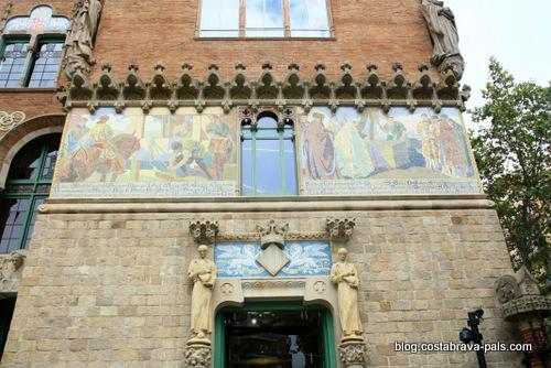 l'hôpital de Sant Pau à Barcelone