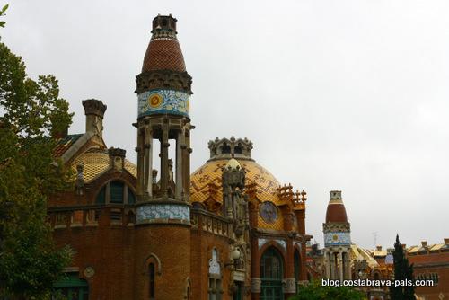 l'hôpital de Sant Pau à Barcelone (16)