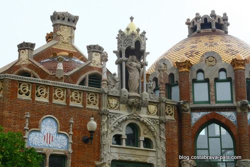 l'hôpital de Sant Pau à Barcelone (2)