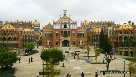 l'hôpital de Sant Pau à Barcelone (5)