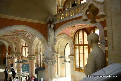 hôpital de Sant Pau à Barcelone (8)