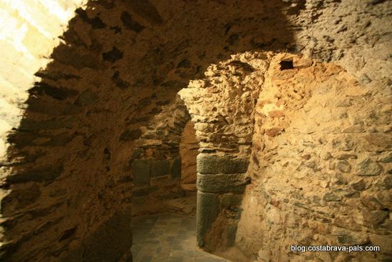 Monastère de Sant Pere de Rodes - crypte