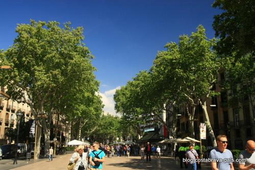 Barcelone dans l'ombre de Zafon ramblas