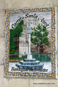 Barcelone dans l'ombre de Zafon carrer santa anna