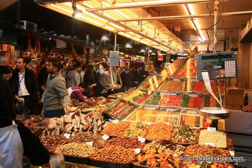 Visiter Barcelone autour du marché de la Boqueria (1)