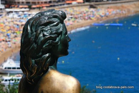Ava gardner Tossa de Mar espagne costa brava (14)