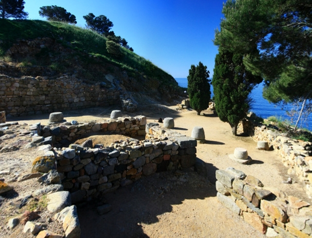 indikets de la plage de Castell