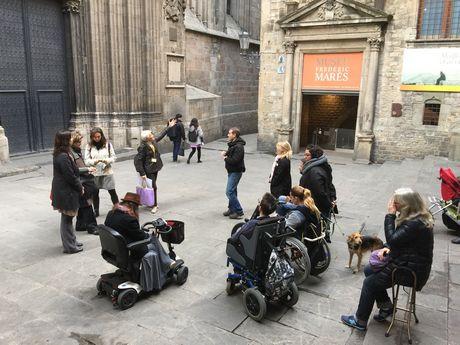 Visiter Barcelone avec un handicap