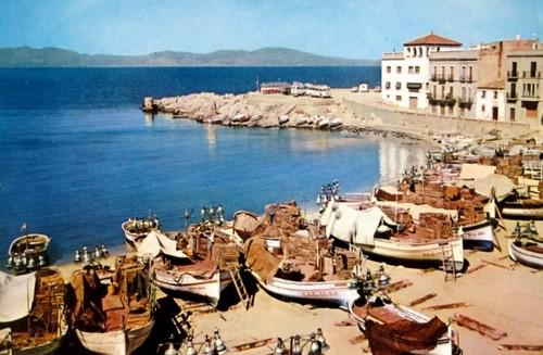 La pêche au lamparo, tradition de la Costa Brava (l'escala année 60)