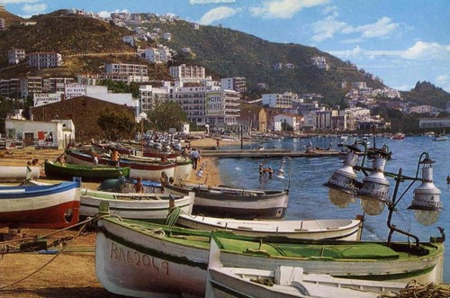 La pêche au lamparo, tradition de la Costa Brava (rosas années 60)
