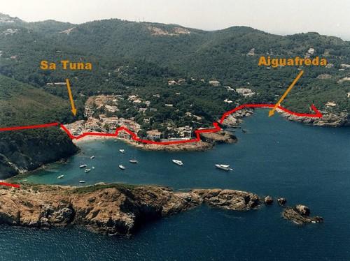 Aiguafreda et Sa Tuna à Begur