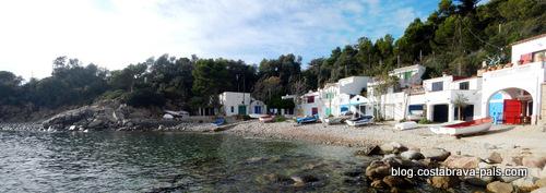 joyaux secrets sur la Costa Brava, cala s'alguer