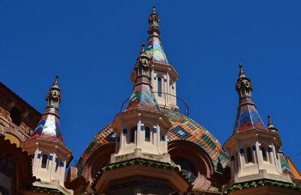 Que faire à Lloret de Mar Costa Brava en Espagne -eglise-sant-roma