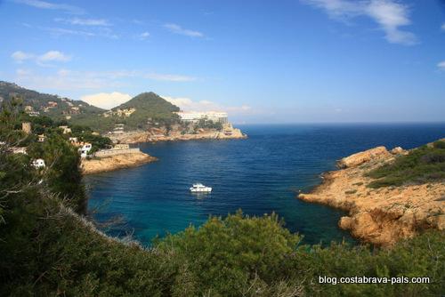 plus belles criques de la Costa Brava. - Cala Sa tuna Begur