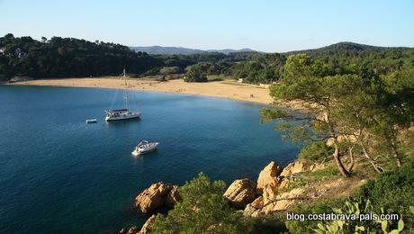 idées reçues sur la Costa Brava - Platja de Castell