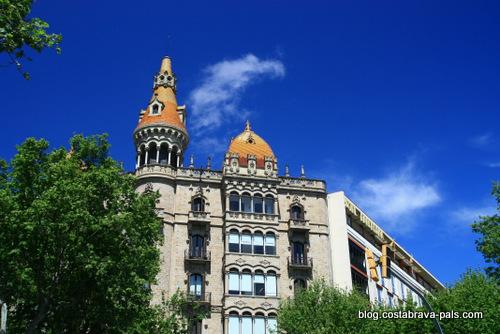 modernisme à Barcelone - Casa Antoni Rocamora