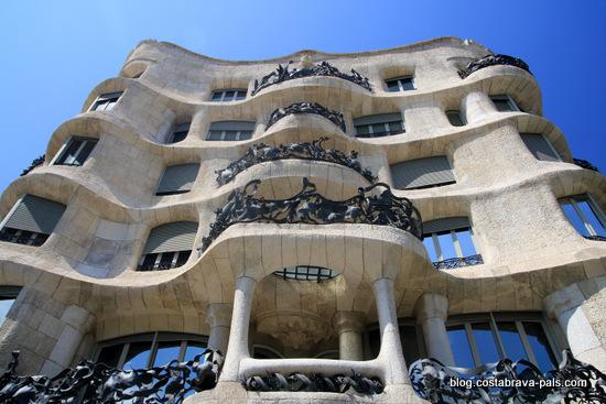 Casa Mila Barcelone Gaudi