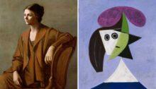 Exposition Picasso Portraits à Barcelone, au musée Picasso - olga picassso / --