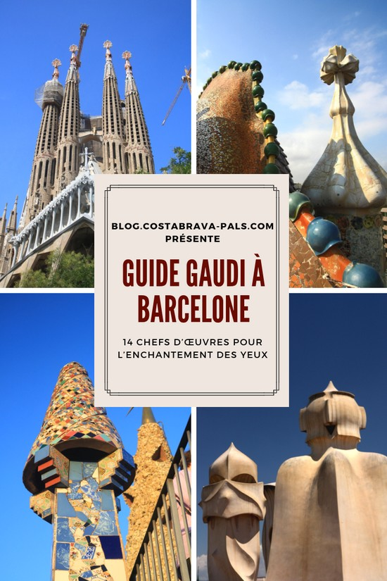 Guide Gaudi Barcelone