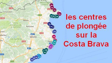 Trouver un centre de plongée sur la Costa Brava, c'est facile!!